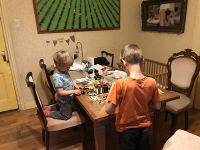 Opruimen bij jonge gezinnen