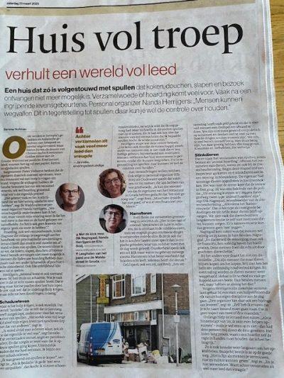 AD Groene Hart Woerden 21-3-2020 'Huis vol troep'